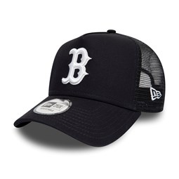 Gorra trucker Boston Red Sox Essential A Frame, negro