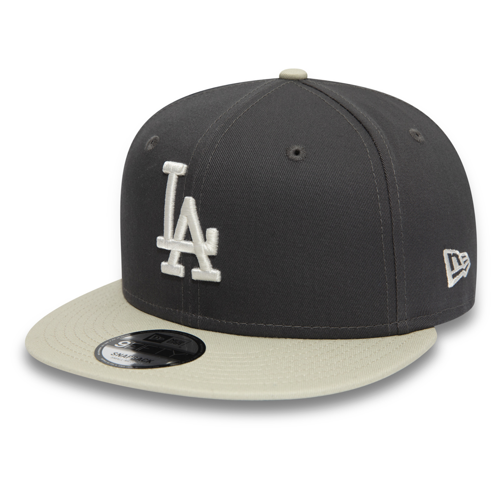 b8ec9261c82 Los Angeles Dodgers Essential Graphite 9FIFTY Snapback
