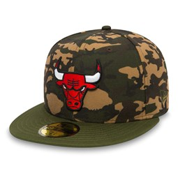 Chicago Bulls Camo Team 59FIFTY