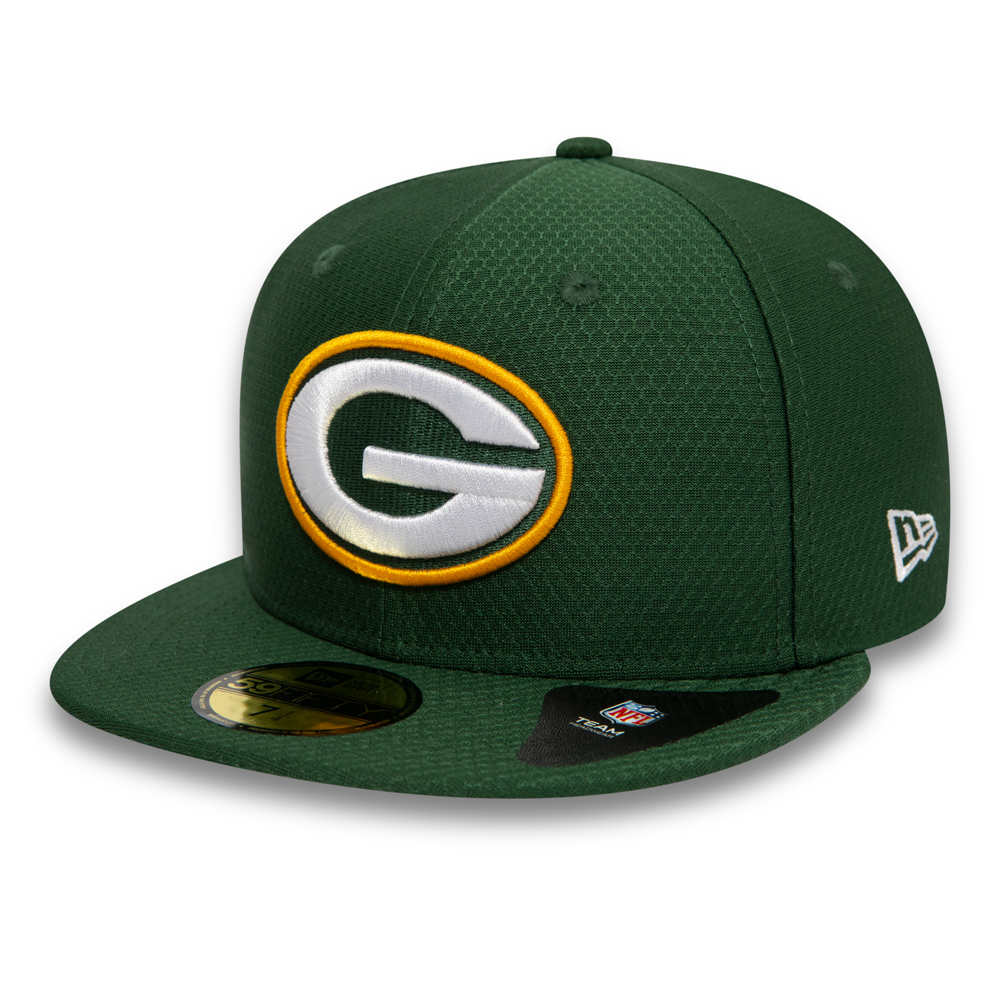 Green Bay Packers Hex Era 59FIFTY, verde