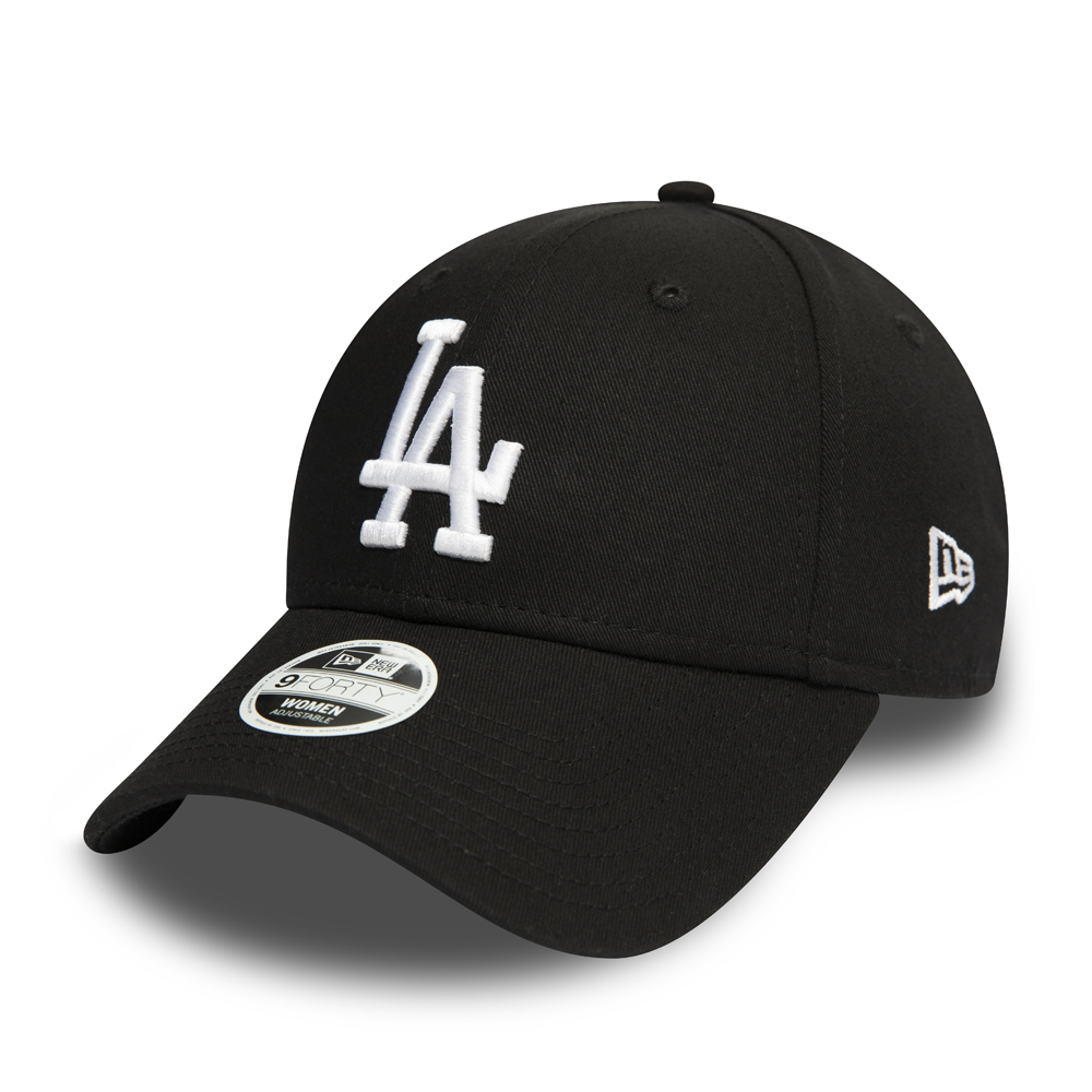 Los Angeles Dodgers Womens Essential Black 9FORTY