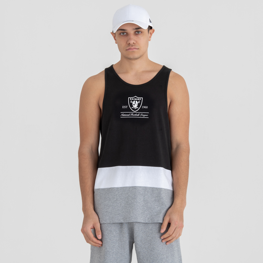 Oakland Raiders Colour Block Tank