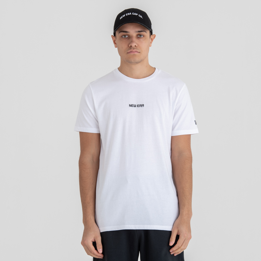 New Era – Essential – T-Shirt – Weiß