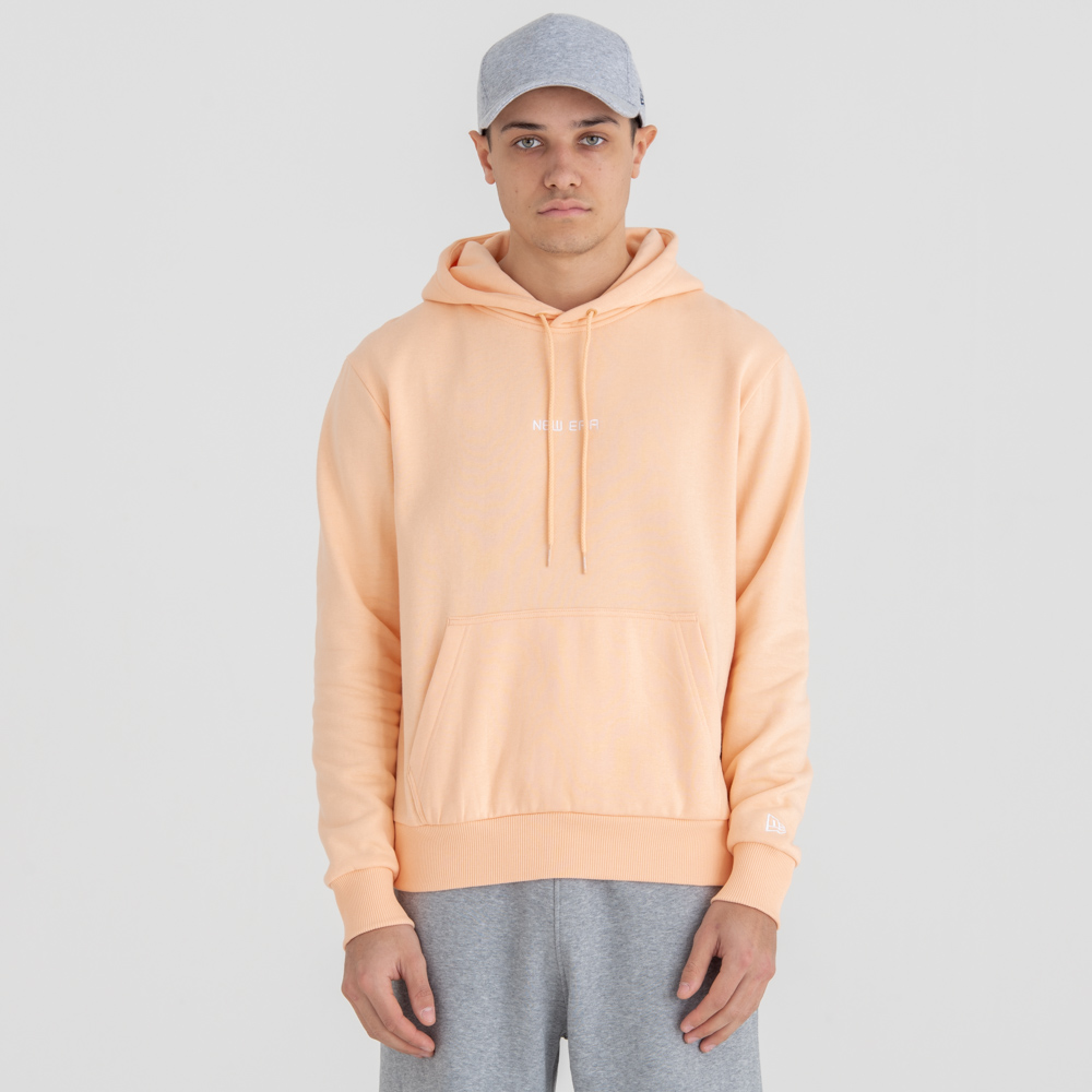 Felpa con cappuccio New Era Essential Peach Pull Over