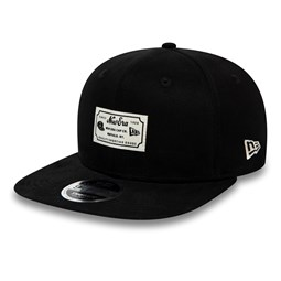 New Era Script Patch 9FIFTY Snapback noir