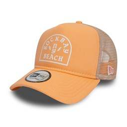New Era – A Frame Trucker – Rock Bay Beach – Pfirsich