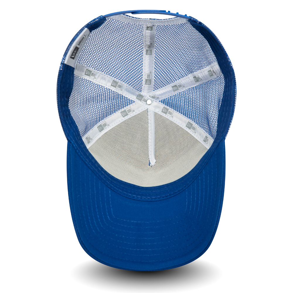 New Era Rock Bay Beach A Frame Trucker, azul
