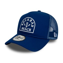 New Era – A Frame Trucker – Rock Bay Beach – Blau