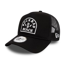 New Era Rockbay Beach Black A Frame Trucker