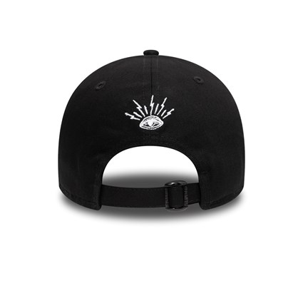 New Era Script Black 9FORTY