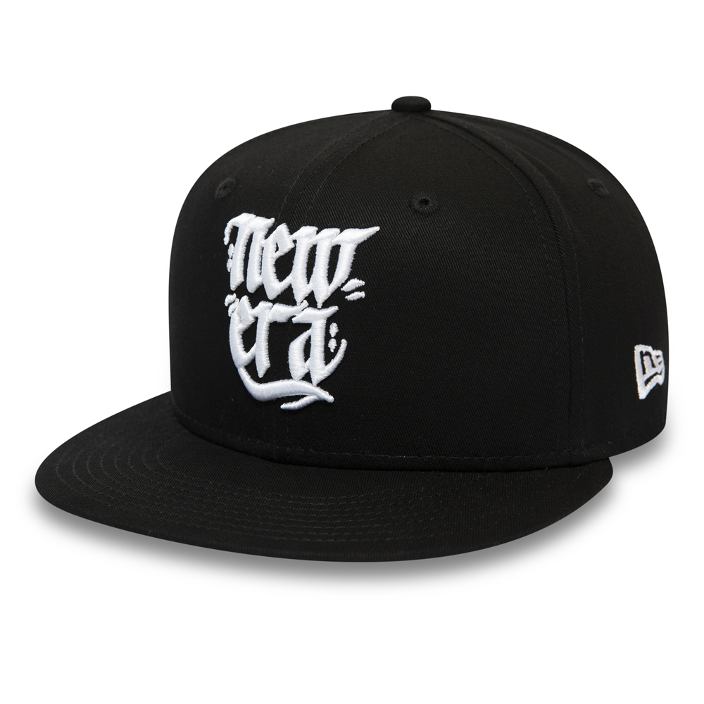 New Era Script 9FIFTY Snapback nero