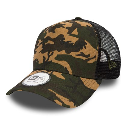 be10252e10 New Era Seasonal Camo A Frame Trucker