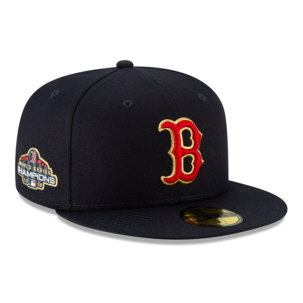 3cdb6fc6113 Low Stock. Boston Red Sox Gold Patch 59FIFTY
