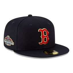 Boston Red Sox Patch 59FIFTY doré