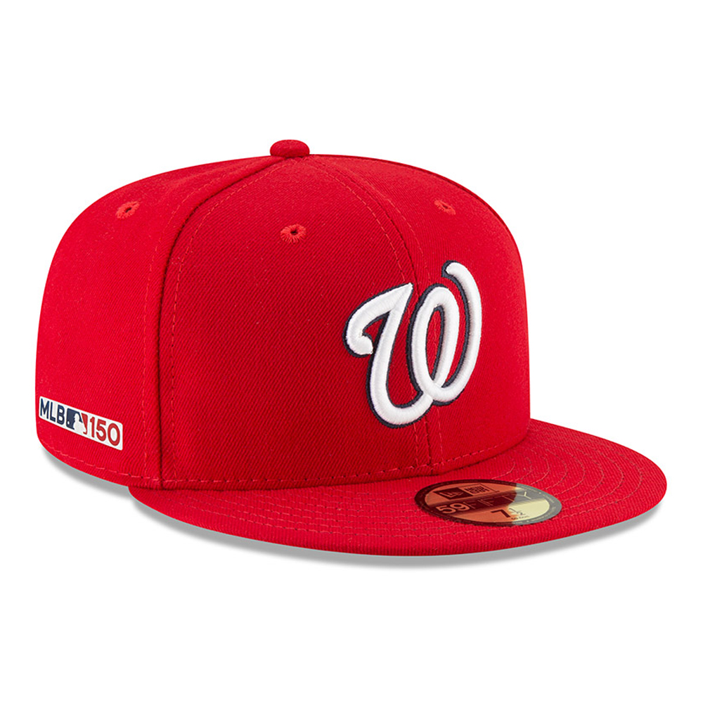 8a05ece2565ec Washington Nationals MLB 150th Anniversary On Field 59FIFTY