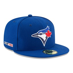 7eea4984997 Toronto Blue Jays MLB 150th Anniversary On Field 59FIFTY
