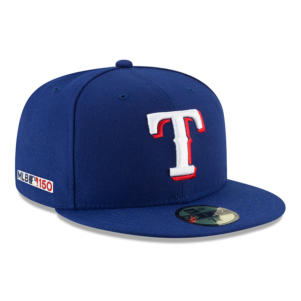 59FIFTY – Texas Rangers MLB 150th Anniversary On Field