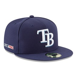 Tampa Bay Rays MLB 150th Anniversary On Field 59FIFTY