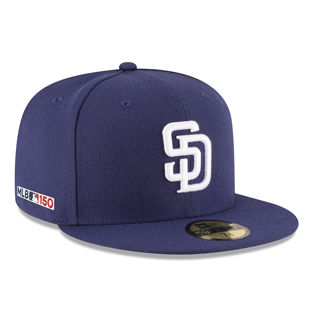 San Diego Padres MLB 150th Anniversary On Field 59FIFTY