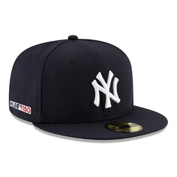 0d655496df4b1 New York Yankees MLB 150th Anniversary On Field 59FIFTY