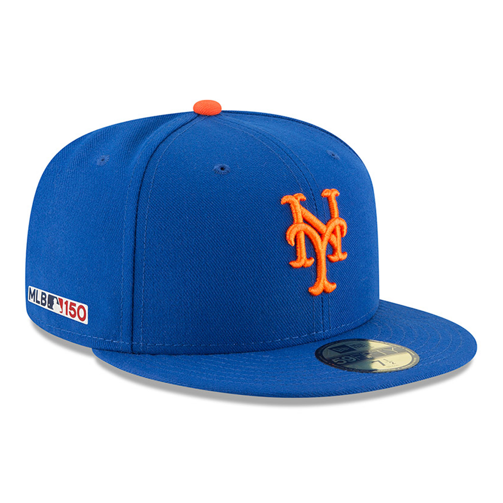 New York Mets MLB 150th Anniversary On Field 59FIFTY