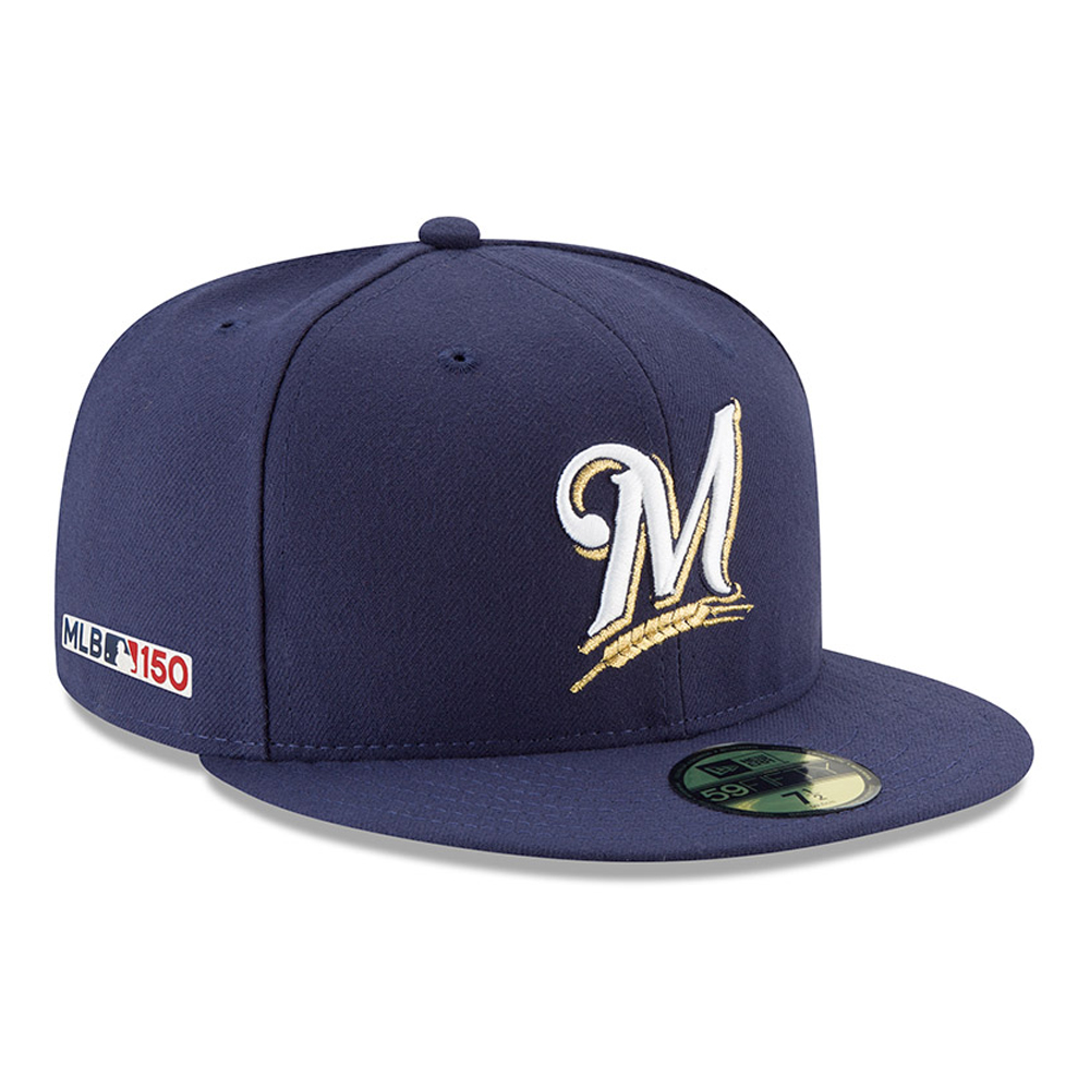 Milwaukee Brewers MLB 150th Anniversary On Field 59FIFTY