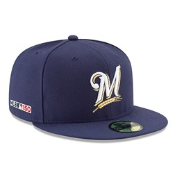 59FIFTY – Milwaukee Brewers MLB 150th Anniversary On Field