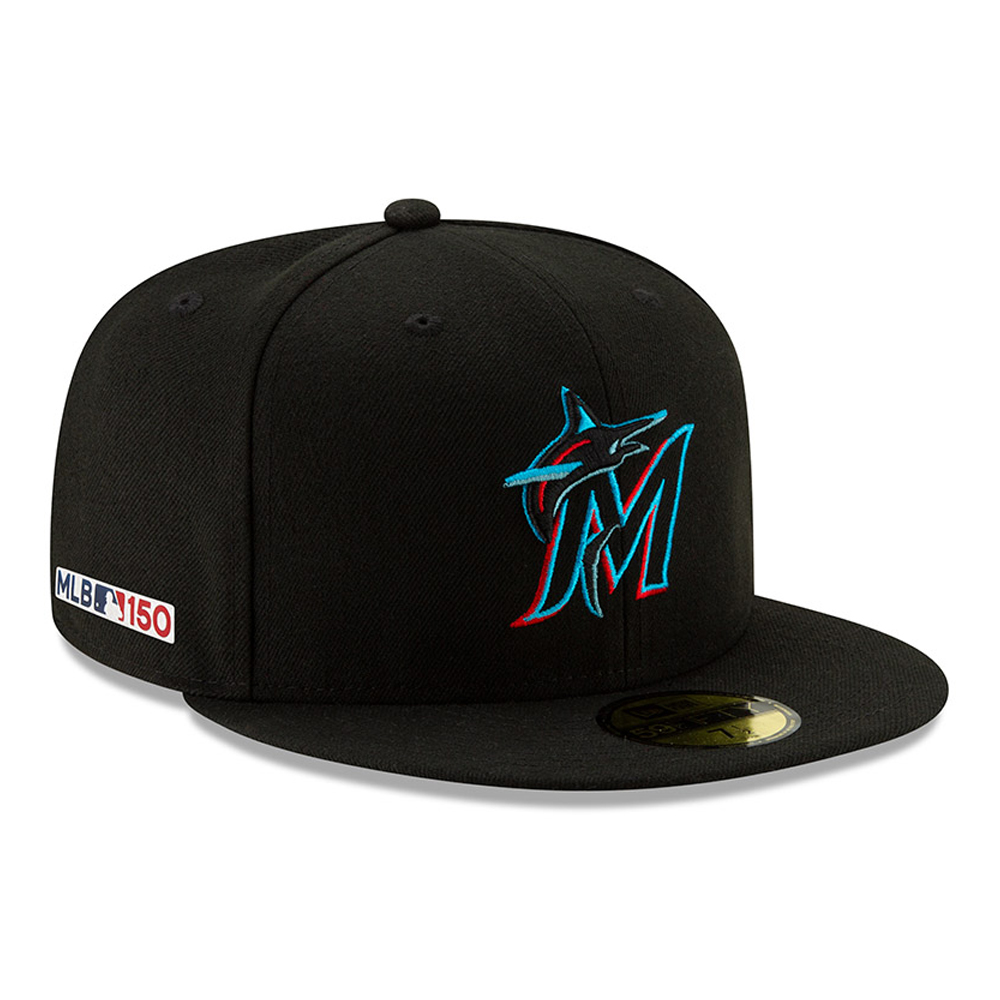 Miami Marlins MLB 150th Anniversary On Field 59FIFTY