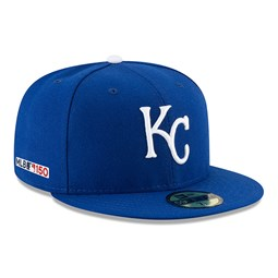 Kansas City Royals MLB 150th Anniversary On Field 59FIFTY