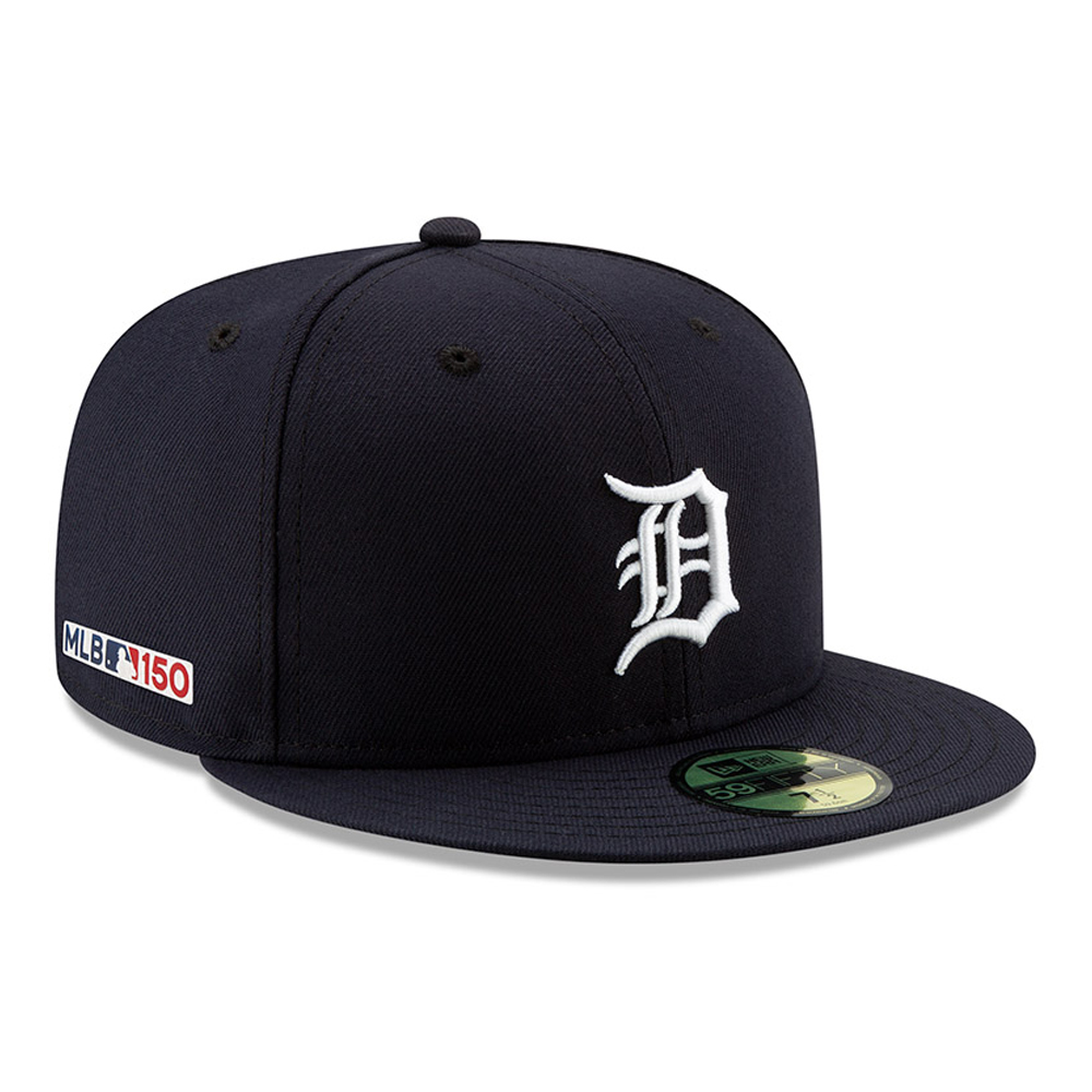 meet 71d81 1761b Detroit Tigers MLB 150th Anniversary On Field 59FIFTY