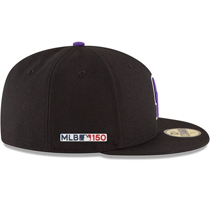 Colorado Rockies MLB 150th Anniversary On Field 59FIFTY