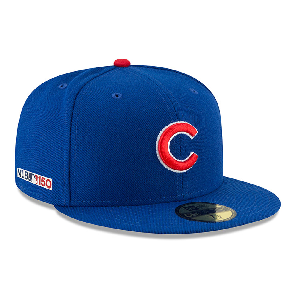 Chicago Cubs MLB 150th Anniversary On Field 59FIFTY