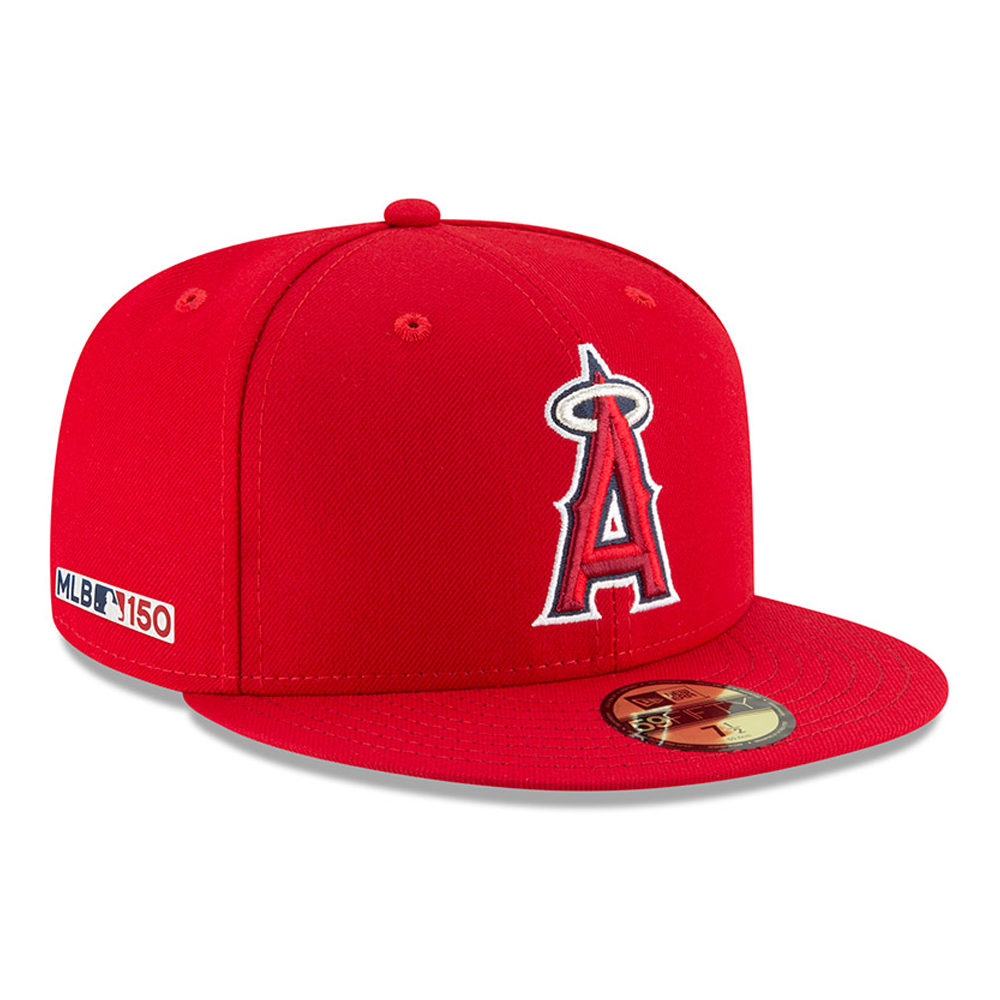 Los Angeles Angels MLB 150th Anniversary On Field 59FIFTY