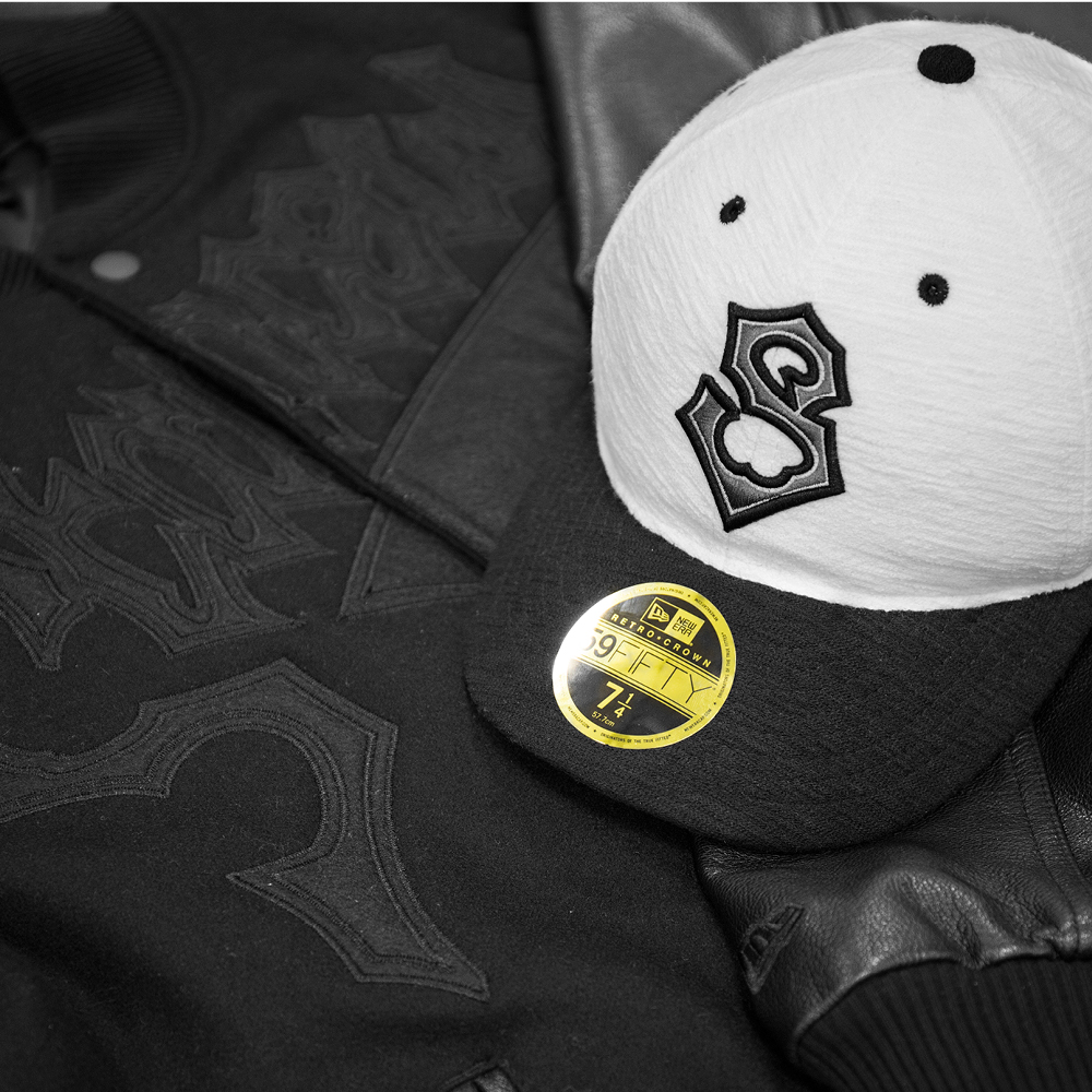 Modello 59FIFTY New Era Originators Starcow rétro con corona