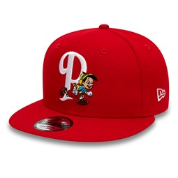 15b47bcbbf4 New. Pinocchio Disney Scarlet 9FIFTY