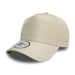 New Era Trucker A-Frame beige