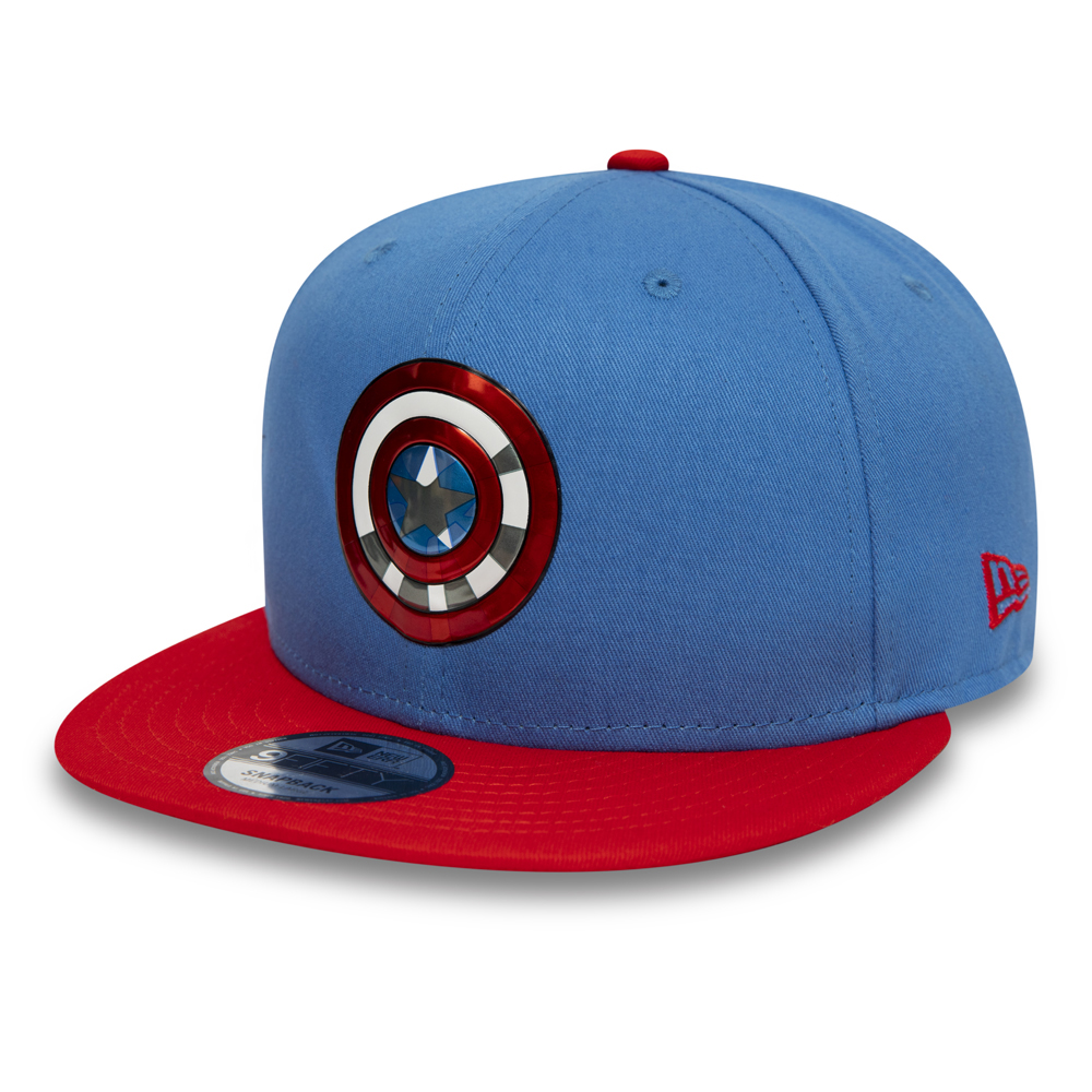 58d1902ccf2 Captain America 9FIFTY Snapback