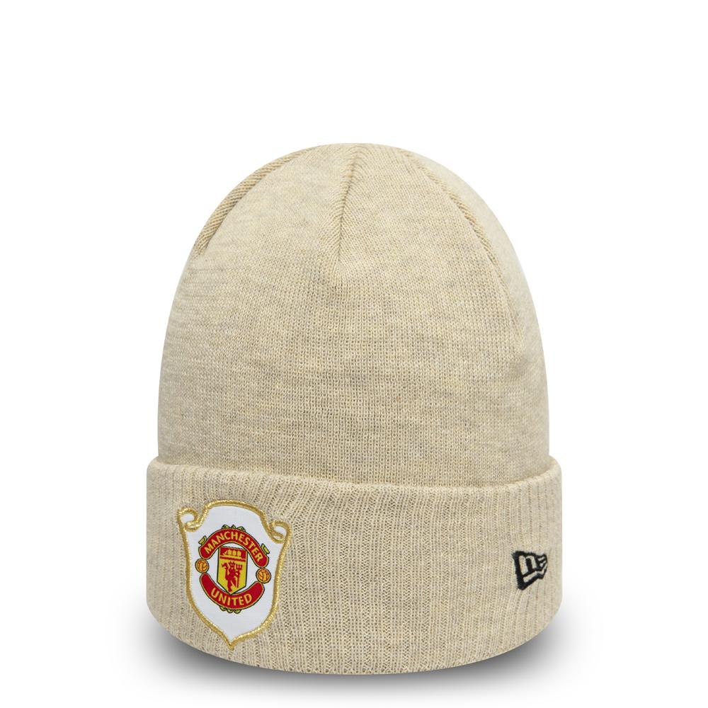 Manchester United – The Treble 1999 – Creme – Cuff – Beanie