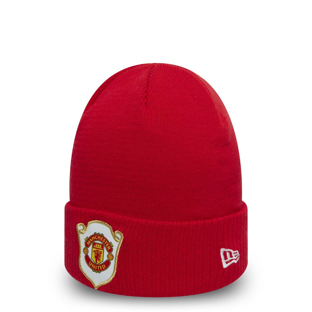 Manchester United – The Treble 1999 – Scharlachrot – Cuff – Beanie