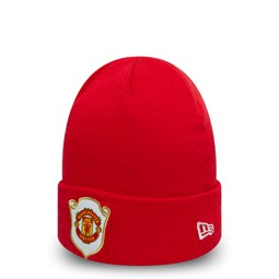 Manchester United The Treble 1999 Scarlet Cuff Knit