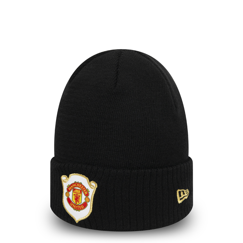 9169c273da8 Manchester United The Treble 1999 Black Cuff Knit