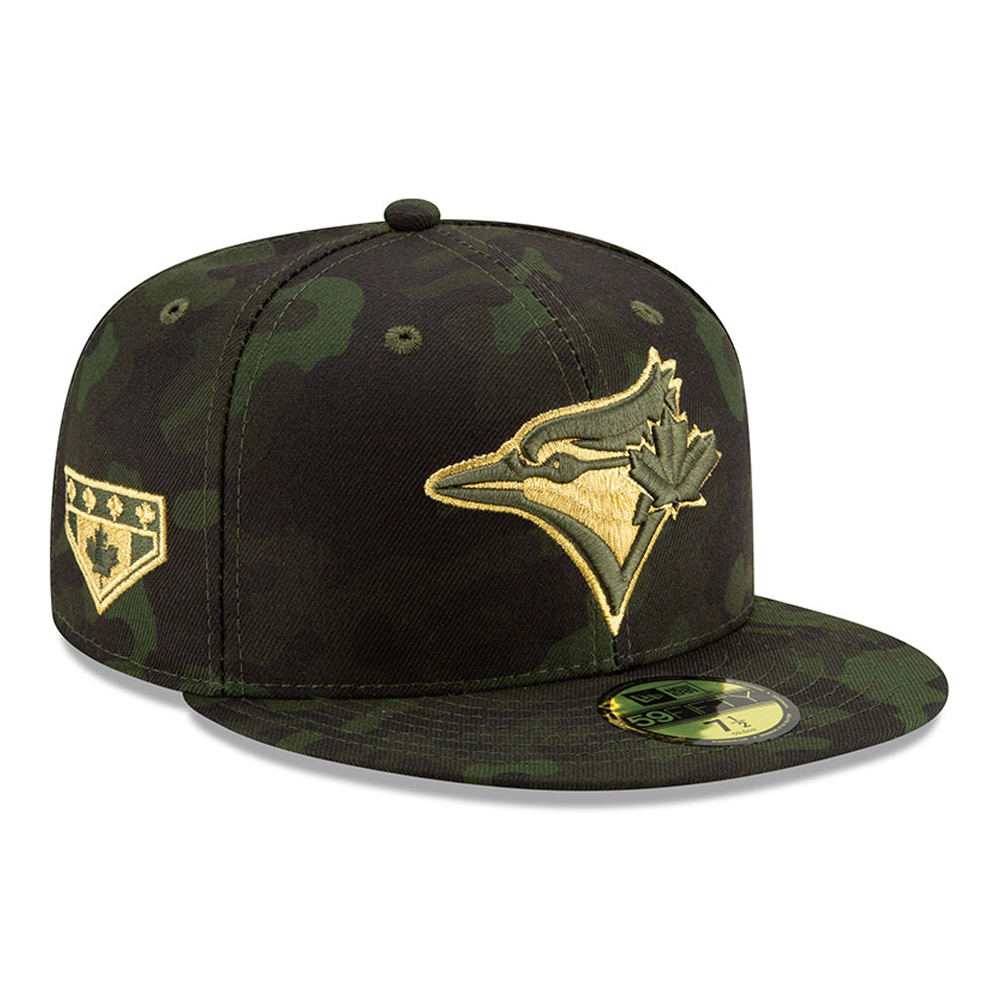 Toronto Blue Jays Armed Forces Day 59FIFTY On Field