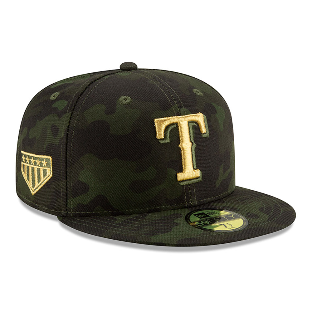 59FIFTY – Texas Rangers – Armed Forces Day On Field