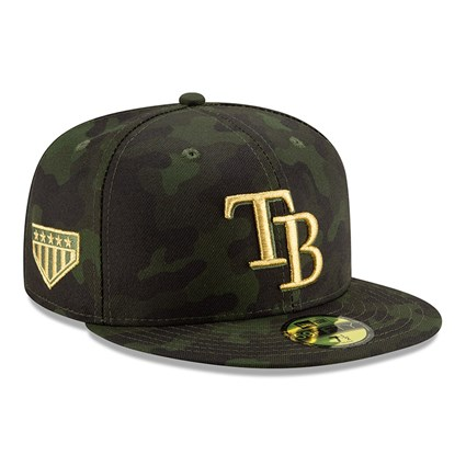 new concept 077a1 e459c Tampa Bay Rays Armed Forces Day On Field 59FIFTY   New Era