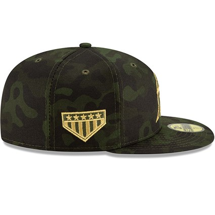 innovative design a1e50 58941 ... Miami Marlins Armed Forces Day On Field 59FIFTY