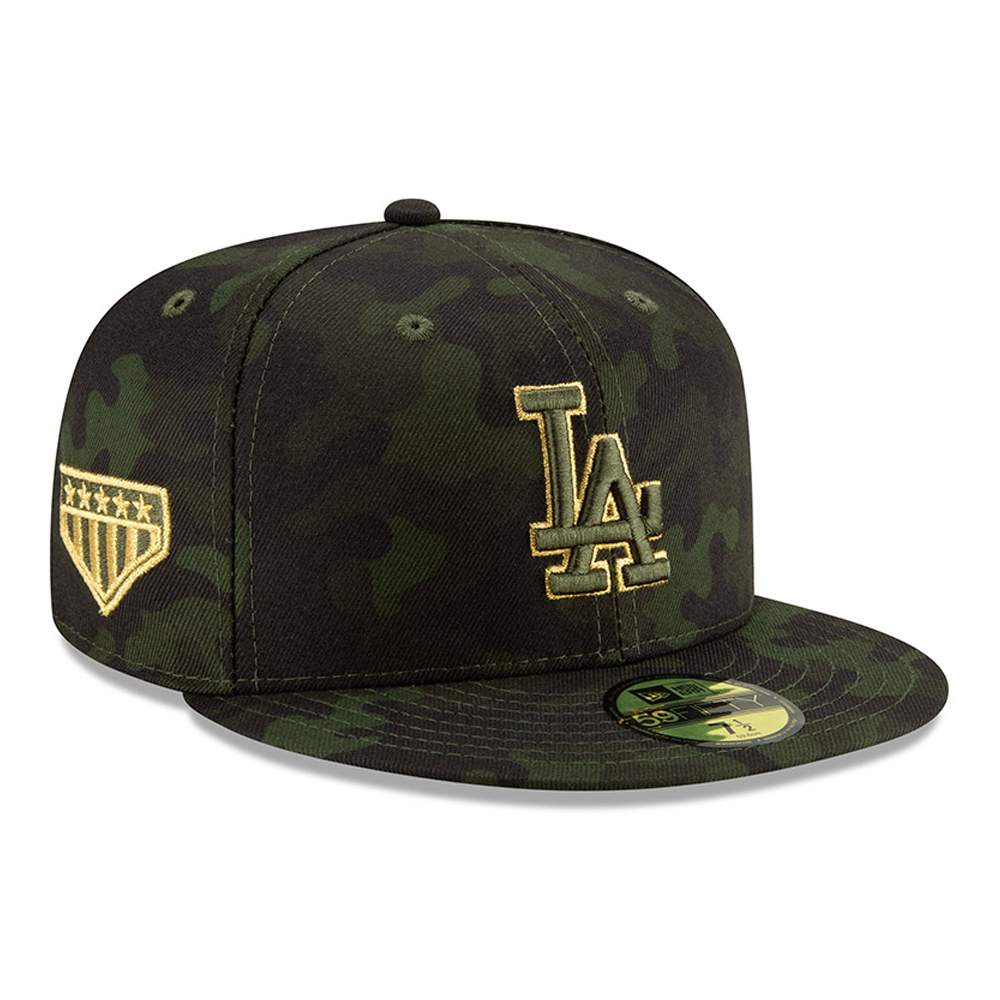 25750e3c377 Los Angeles Dodgers Armed Forces Day On Field 59FIFTY