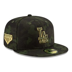 baf5ff60cd8d3 Los Angeles Dodgers Armed Forces Day On Field 59FIFTY