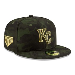 Kansas City Royals Armed Forces Day 59FIFTY On Field