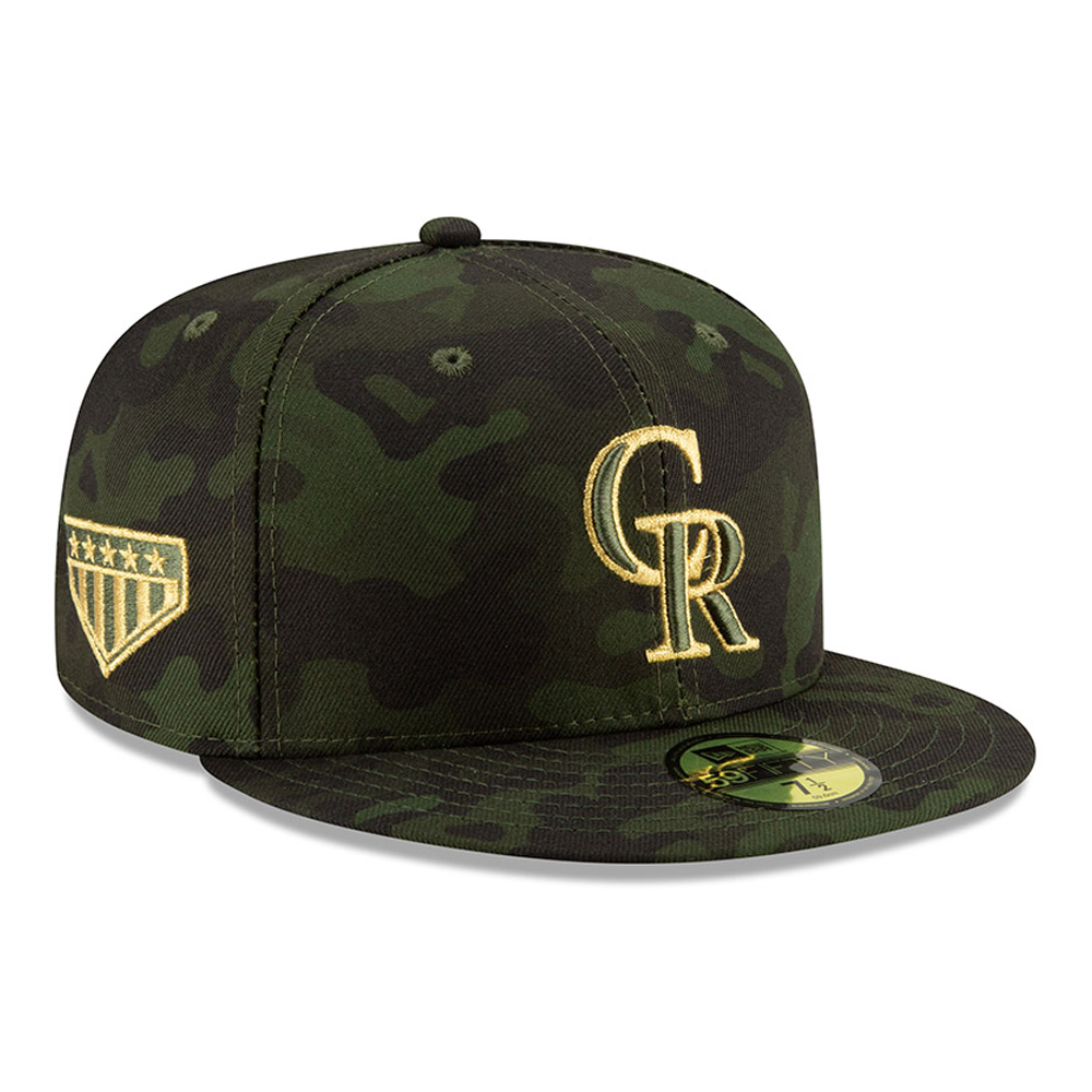 Colorado Rockies Armed Forces Day On Field 59FIFTY