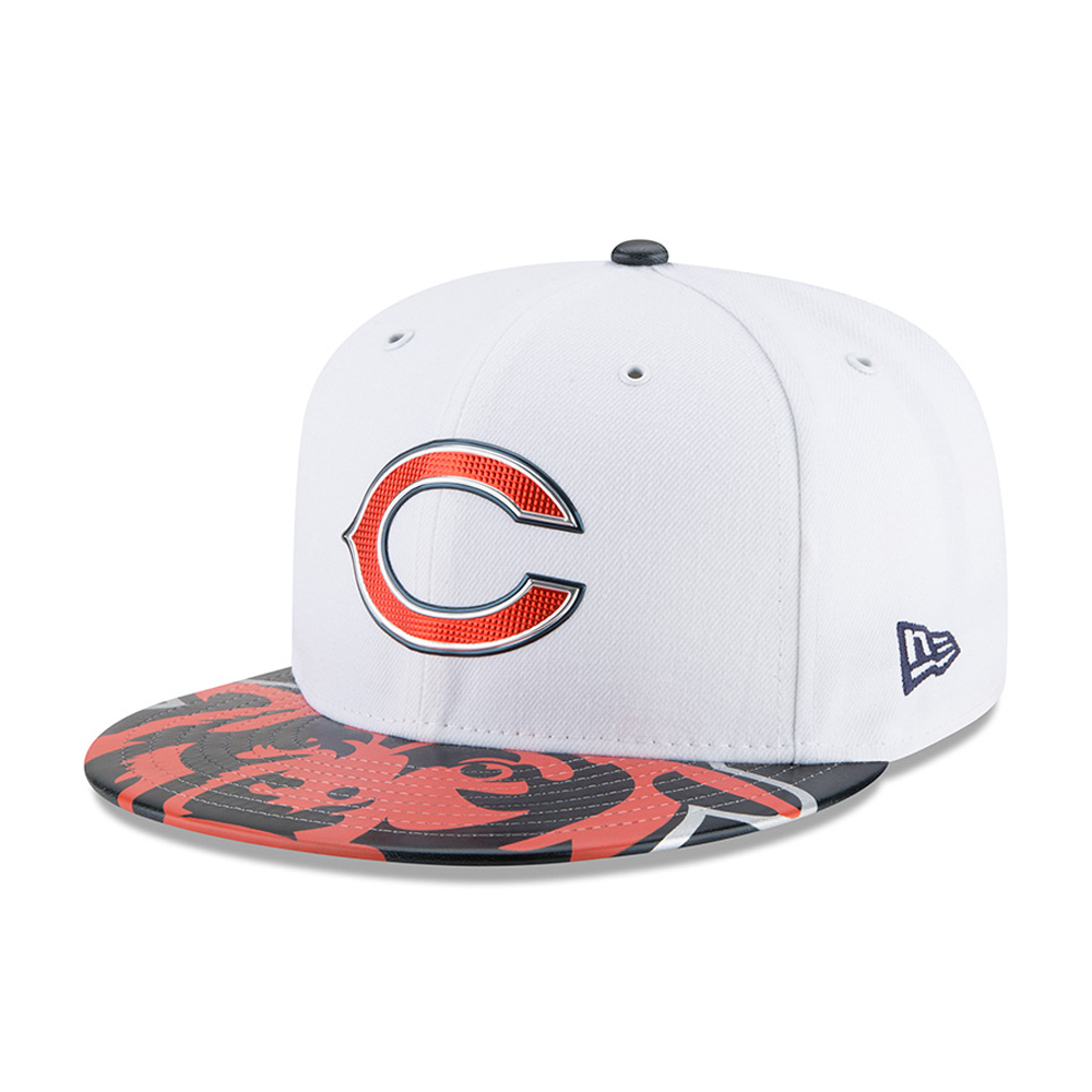 146bfb32e1e19 Chicago Bears 2017 NFL Draft On Stage 59FIFTY